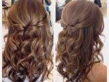 Prom Hairstyles for Medium Hair Half Up Half Down Straight Half Up Half Down Hairstyles Straight Hair Lovely Wedding
