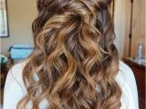 Prom Hairstyles Half Up Half Down Front and Back 36 Amazing Graduation Hairstyles for Your Special Day