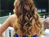 Prom Hairstyles Long Hair Down Curly 21 Gorgeous Home Ing Hairstyles for All Hair Lengths