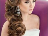 Prom Hairstyles Side Curls with Braid 116 Best Side Swept Hairstyles Images