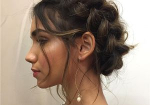 Prom Hairstyles Side Curls with Braid 20 Charming and Y Valentine S Day Hairstyles