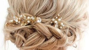 Prom Hairstyles Updo Buns 33 Amazing Prom Hairstyles for Short Hair 2019 Hair