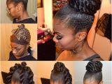 Protective Hairstyles Buns Faux Bun Faux Bun