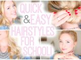 Quick and Easy Hairstyles for School Photos Quick and Easy Hairstyles for School
