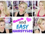 Quick and Easy Hairstyles for Short Hair for School Quick and Easy Hairstyles for Summer
