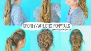 Quick and Easy Sporty Hairstyles Sporty Hairstyles for School