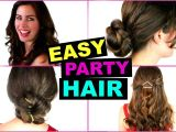 Quick Easy Going Out Hairstyles Easy & Quick Party Hairstyles Great for Going Out