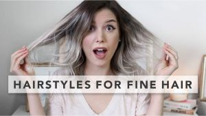 Quick Easy Hairstyles for Long Thin Hair Hairstyles for Baby Fine Hair