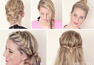 Quick Easy Hairstyles for Wet Hair Hairstyle Tutorials for Wet Hair