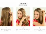 Quick Easy to Do Hairstyles for Long Hair Beautiful Quick and Easy Heatless Hairstyles for Long Hair