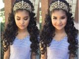 Quinceanera Hairstyles with Curls and Tiara 69 Best Quinceanera Crowns Images On Pinterest