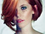 Red Hairstyles and Cuts Red Bob Con Estos Pelos Pinterest