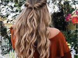 Red Half Up Hairstyles Easy Half Up Half Down Hairstyle Easy Half Up Hairstyle In 1 Min