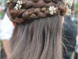Renaissance Wedding Hairstyles Love the Braid Wonderful Hair for A School Dance or