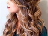 Romantic Hairstyles Down 1053 Best Half Up Hair Images In 2019