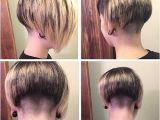Shaved Nape Bob Haircut Shaved Nape