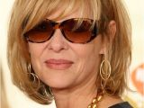 Short Blonde Hairstyles Tumblr Kate Capshaw Short Blonde Messy Haircut with Bagns for Women Over 60