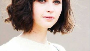 Short Bob Hairstyles for Thick Curly Hair 15 Messy Bob with Bangs