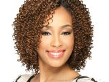 Short Jerry Curl Weave Hairstyles Milky Way Que Human Hair Blend Weave Short Cut Series