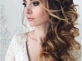 Side Curls Hairstyles for Wedding 34 Elegant Side Swept Hairstyles You Should Try