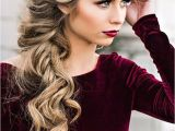 Side Curls Hairstyles Pinterest 33 Oh so Perfect Curly Wedding Hairstyles