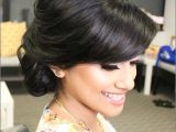 Side Swept Bun Hairstyles for Weddings Indian Bridal Hairstyles the Perfect 16 Wedding Hairdo Pics