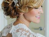 Side Swept Updo Wedding Hairstyles Side Swept Wedding Hair