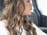 Simple Elegant Hairstyles Curly Hair Simple Prom Hairstyles Elegant Medium Curled Hair Very Curly