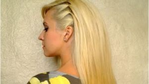 Simple Everyday Hairstyles Youtube Cute Easy Party Hairstyle for Medium Hair Back to School Everyday