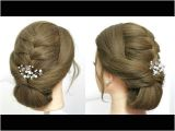 Simple Everyday Hairstyles Youtube Easy Everyday Hairstyle Simple Party Updo for Long Hair Tutorial