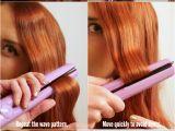 Simple Hairstyles Curling Iron Easy Flat Iron Waves Tutorial Hair Short to Medium