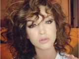Simple Hairstyles for Curly Medium Hair 15 Easy Hairstyles for Short Curly Hair