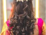 Simple Hairstyles On Saree for Long Hair 9537 Best Hair Styles Images