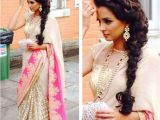 Simple Loose Hairstyles for Saree 20 Simple and Cute Hairstyles for Mehndi Function This Season