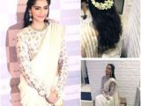 Simple Loose Hairstyles for Saree 48 Best Saree Hairstyles Images
