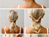 Simple Updo Hairstyles for Weddings 20 Diy Wedding Hairstyles with Tutorials to Try On Your
