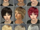 Sims 3 Anime Hairstyles Mod the Sims Coolsims Male Hair 27 Peggy Free Hair Newsea
