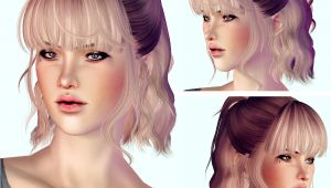 Sims 3 Bob Hairstyles My Sims 3 Blog Hair Retextures by I Like Teh Sims