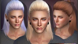 Sims 4 Hairstyles Download New Mesh Found In Tsr Category Sims 4 Male Hairstyles
