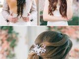 Soft Hairstyles for Weddings Deer Pearl Flowers Wedding Colors & Ideas