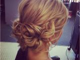 Soft Hairstyles for Weddings soft Wavy Updo Bottom is Pretty