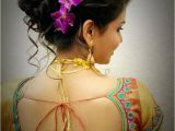South Indian Wedding Hairstyles Pictures south Indian Bridal Hairstyles Wedding Reception with