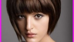 Stacked Bob with Bangs Haircut Pictures Short Haircut with Straight Bangs Livesstar