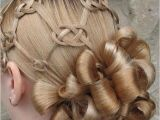 The Knot Hairstyles for Weddings Pretzel Knot Updo Link for the Knots