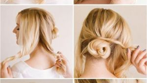 Tied Up Hairstyles Easy 10 Quick and Easy Hairstyles Step by Step