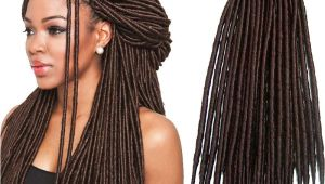 Try Hairstyles Online Dreadlocks Straight 14inch 18inch Dreadlocks Braids Synthetic Hair Extension