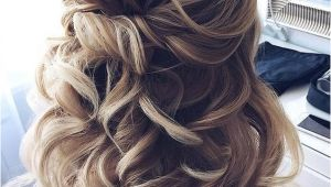 Twist Half Updo Hairstyles Half Up Half Down Twisted Wedding Hairstyles