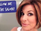U Hair Cutting Video New Haircut and Color at the Salon