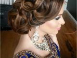 Updo Hairstyles for Indian Weddings 16 Glamorous Indian Wedding Hairstyles Pretty Designs