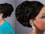 Updo Hairstyles for Indian Weddings Indian Wedding Hairstyles for 2012